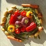 mandala di verdura autunno 2