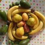 maschera africana di frutta autunno